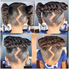 My fav child hair style.