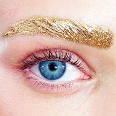 golden brows at dior | ban.do