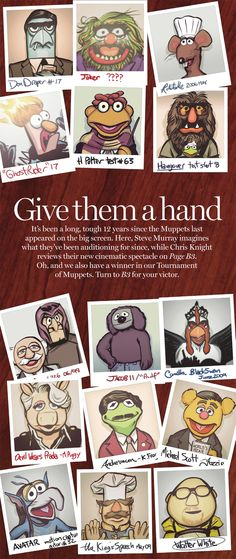 National Post - the Muppets are back but where were they?