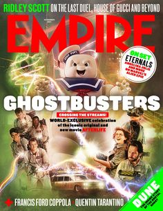 All Movies, Great Movies, Ghostbusters Stay Puft, Jason Reitman, Denis Villeneuve, French Directors, Francis Ford Coppola, Ridley Scott, Movie Magazine