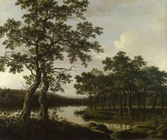 From The National Gallery (UK) Joris van der Haagen: 'A River Landscape'