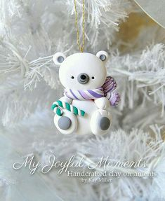 Polymer clay polar bear