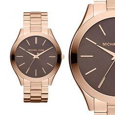 24 Best Michael Kors Slim Runway Rosegold Watch MK3181