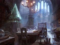 Jace's Sanctum by AdamPaquette on DeviantArt