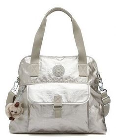 Another great find on #zulily! Silver Pahneiro Tote by Kipling #zulilyfinds