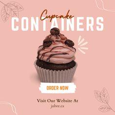 Cupcake Container, Boxes, Cupcakes, Plastic, Amazon, Bag, Free, Crates, Cupcake Cakes