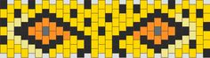 Cheetah bead pattern