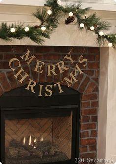 christmas home tour @lissylee