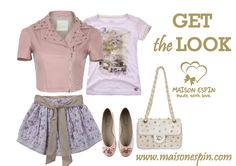 Get the look #maisonespin#top#look #outfit#chic#springsummercollection13 #womancollection #top #lovely #MadewithLove #romanticstyle #milano#clothing #shopping #iloveshopping