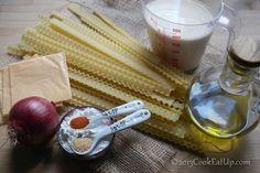 Ζυμαρικά Mafaldine με βελούδινη τυρένια σάλτσα ⋆ Cook Eat Up! Recipes, Ripped Recipes, Cooking Recipes, Medical Prescription, Recipe