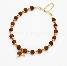Inventive Rudraksha Trishul Pendant-gold Color-hinduism Yoga Prayer Meditation Free Ship Jewelry & Watches