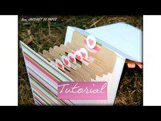 Tutorial: Mini álbum con material reciclado | Scrapbooking y Reciclaje | Mundo@Party - YouTube