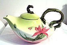 Hull Pottery - Woodland - Teapot - Glossy