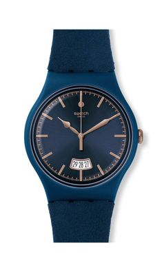 CENT BLEU [SUON400] 2017 XMasCollection Originals New Gent -Seasons Special Collection- *Swatch^* Watch