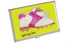Slam Glam - Sydney Love Golf Shoe Card Case.  Great gift!