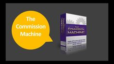 """The Commission Machine Review What's the quickest and easiest way to make serious money online?. The Commission Machine is a complete training course that guides you step by step to make money online for real. Michael Cheney affirms; """"I discovered this new money making method which..."""