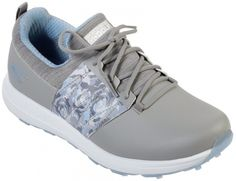 In the market for new golf shoes? Lori's Gold Shoppe carries a selection of cool stylish golf shoes for women. Check this one out -->  Skechers Ladies GoGolf Max Golf Shoes - Lag (Gray/Blue)