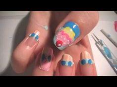 Pinkie Pie Nail Art Tutorial