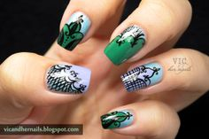 Vic and Her Nails #nail #nails #nailart