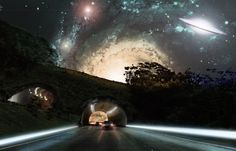 Space Tunnle Fantasy by Alipaki.deviantart.com on @deviantART