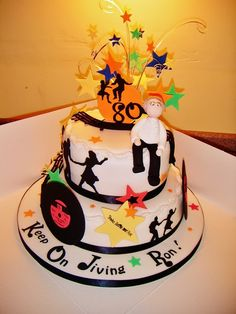 50s Theme Cake Photo:  This Photo was uploaded by sjoiner_2009. Find other 50s Theme Cake pictures and photos or upload your own with Photobucket free im...