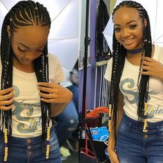 American and African Hair Braiding : Braids! – goddess braids – - New Pin Black Girl Braids, Braids For Black Hair, Braids For Kids, Girls Braids, African Braids Hairstyles, Braided Hairstyles, Braided Mohawk, Curly Hair Styles, Natural Hair Styles