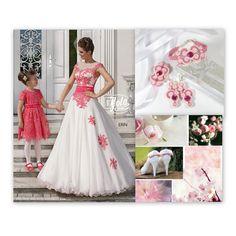ślub na różowo