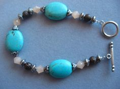 Vintage Look Turquoise Bracelet by stormy53 on Etsy, $18.00