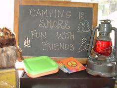 "Photo 1 of 8: Camping & S'more Fun / Birthday ""Camp-in party"""