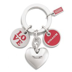 The Love Multi Mix Key Ring from Coach