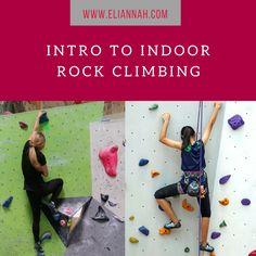 Intro to indoor rock climbing
