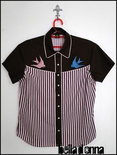 Lojabelladonna: Camisa Feminina Susan