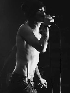 Ville Valo shirtless