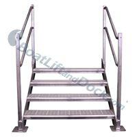 Aluminum Steps Newman S Docks Newmansdocks Com Stairs
