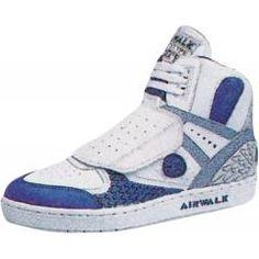 Airwalk Shoes - Prototype 600F - 1989