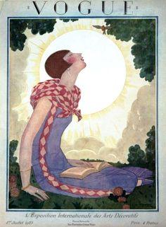 Vogue cover - Juillet 1-1925