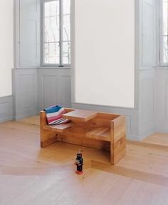 Tafel - bench table for kids room by Hans de Pelsmacker, 2000