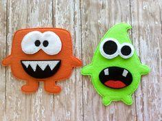Felt Build a Monster Set felt monster game Educational Toy