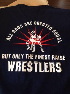 Wrestling dads shirts
