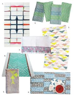 Totally On Trend: Modern Table Linens