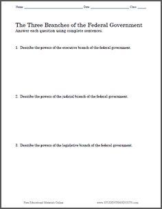 American government essay
