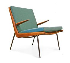 "FD 134 ""Boomerang chair"" by Peter Hvidt & Orla Mølgaard Nielsen image 4"