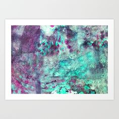 crayon love: live outside the box Art Print by Sylvia Cook Photography - $19.00