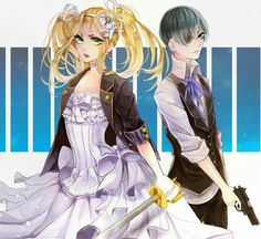 I like the way how this art shows how can they grow up. But... Ciel'll never grow up. Sorry Soul.