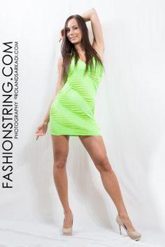 Miniruha, neon zöld, női ruha, női ruha üzlet,  model photo rolandsarkadi.com, sexy girl, party #model photo #rolandsarkadi.com # sexy girl #party ruha #randi ruha #ricza nicolett #Mosonmagyaróvár #női ruha üzlet #fashion #women #photography