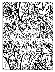 109 Best Swear Word Coloring Book Images Coloring Books Coloring