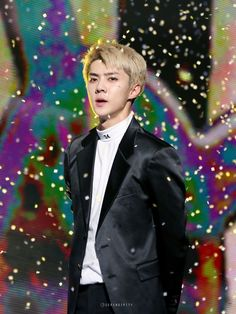 Sehun - 161101 SBS Power FM 20th Anniversary Concert Credit: Serendipity EXO. (SBS 파워FM 20주년 콘서트)