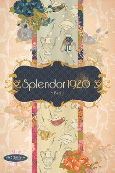 Splendor 1920 by Bari J.