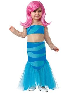 Toddler Girls Molly Costume - Bubble Guppies - Party City