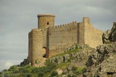 Castillo de Puebla de Alcocer. Badajoz
